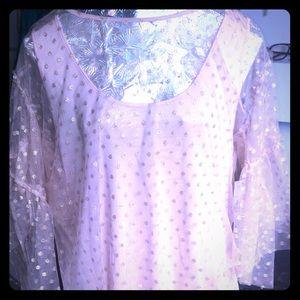 NWT Worthington lace blouse